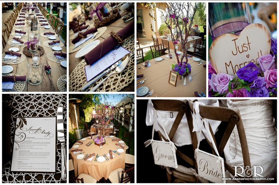 R & R Creative Photography | Vintage Backyard Wedding Spotlighted in ...