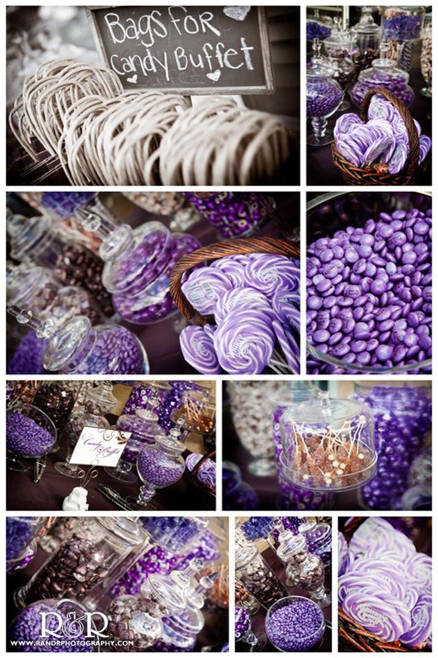 Brown & Purple Themed Wedding | R & R Creative Photography