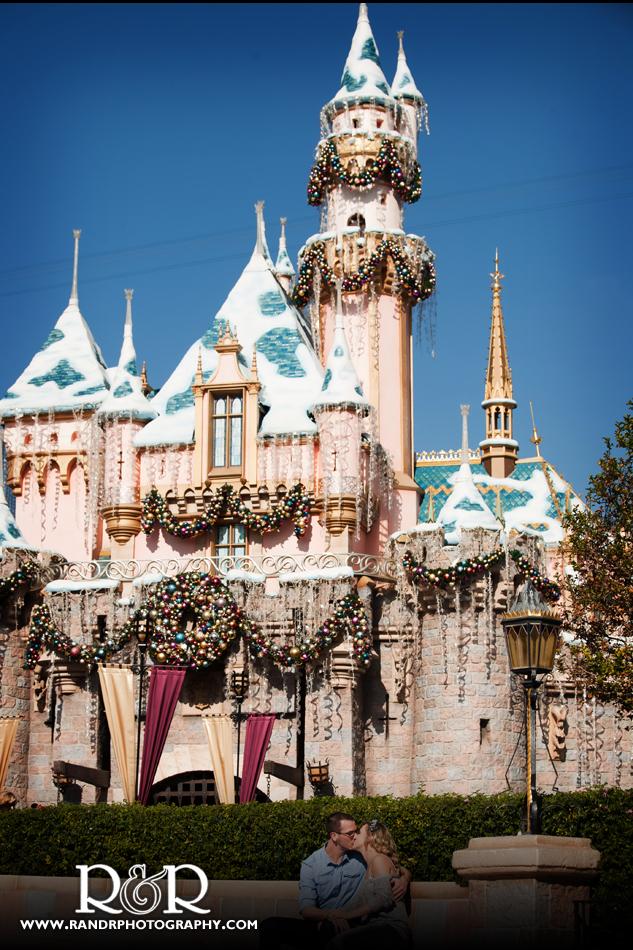 Hillary&Tony_Castle Memories at  Disneyland