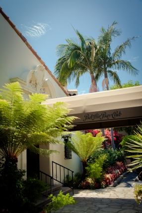 entrance at bel air bay club