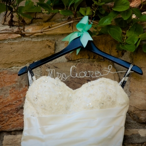etsy hanger for bride's dress