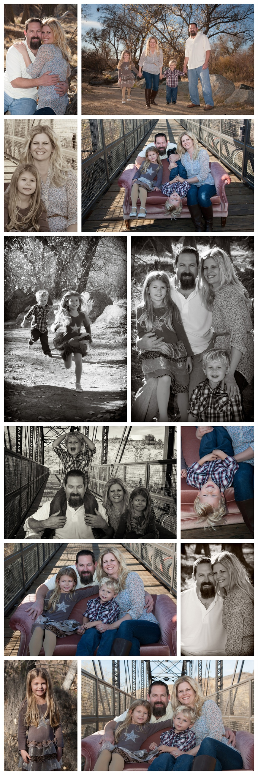 Iron Horse Bridge Family Portraits