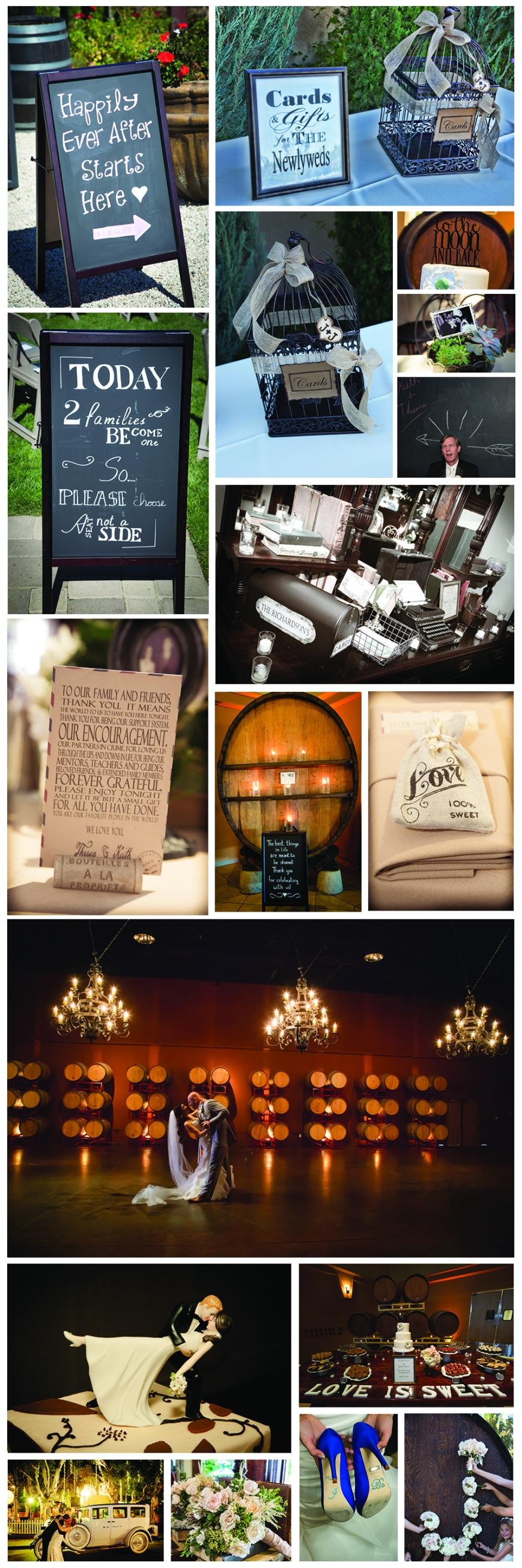 Wedding Details Collage