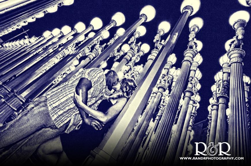 LACMA-Lamp Posts- Engagement