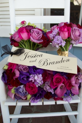 Wedding Program & Flowers