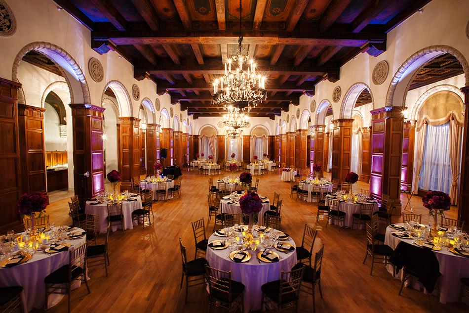 Wedding Reception Park Plaza Hotel Los Angeles R R Creative