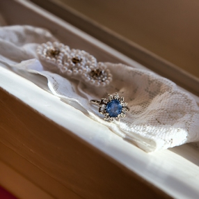 The Garter & Grandma's Anniversary Ring