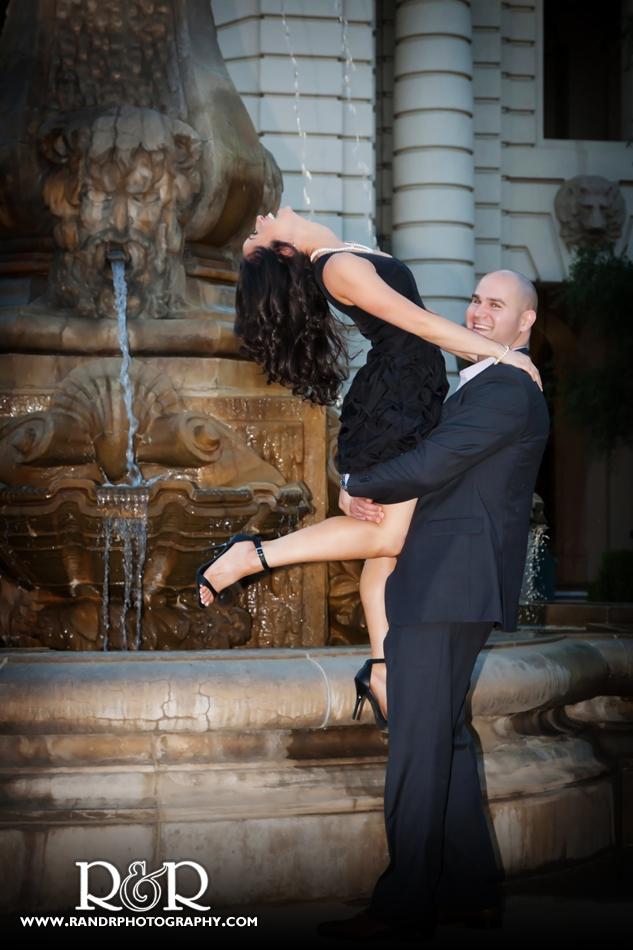 Heather&Rob-Engagement-PasadenaCityHall